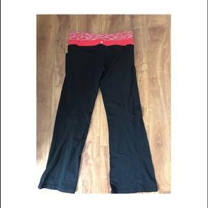 Lululemon Reversible Flared Yoga Pants Size 10